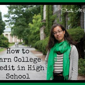 How to Earn College Credit in High School from Starts At Eight