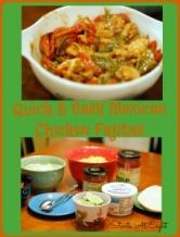 Quick & Easy Mexican Chicken Fajitas