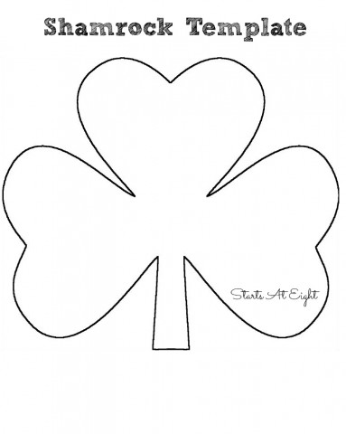 st patrick s day craft tissue paper shamrock startsateight