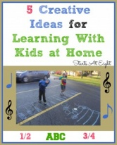 5 Creative Ideas for Learning With Kids at Home