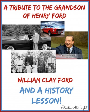 A Tribute to the Grandson of Henry Ford (And a History Lesson) from Starts At Eight