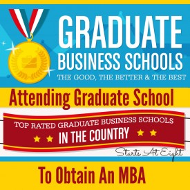 Attending Graduate School to Obtain an MBA from Starts At Eight