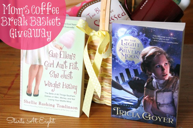 Books for Mom's Coffee Break Basket from Starts At Eight