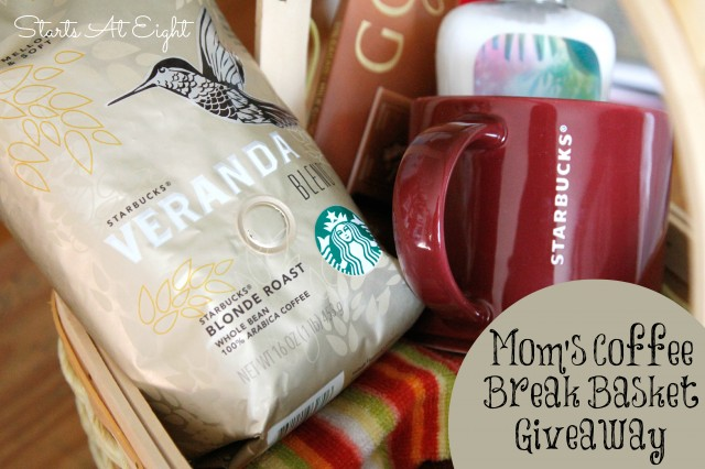 Coffee in Mom's Coffee Break Basket from Starts At Eight