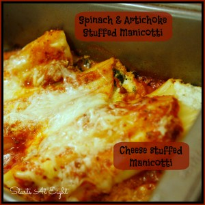 Favorite Manicotti Recipes from Starts At Eight