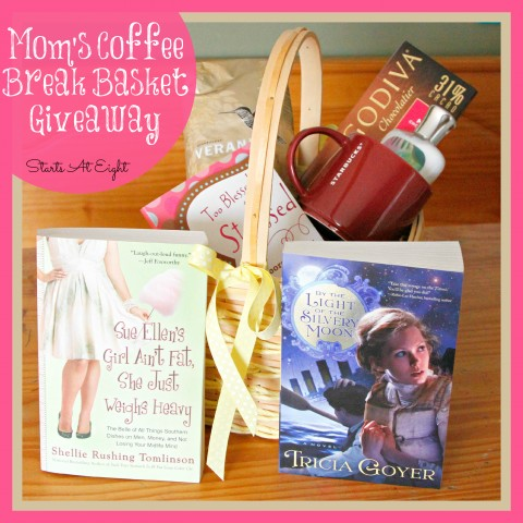 Mom's Coffee Break Basket Giveaway from Starts At Eight