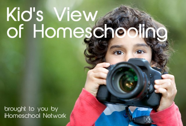 Kid's View of Homeschooling - an iHN Link-Up
