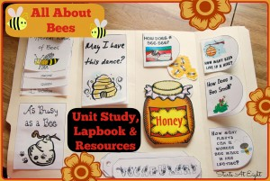 All About Bees Unit Study from Starts At Eight