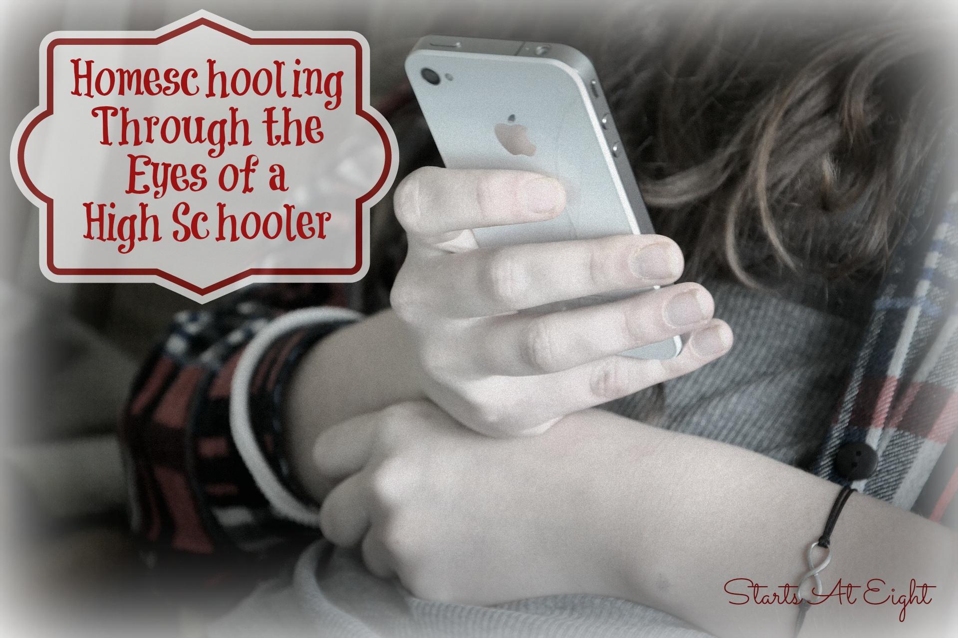 Homeschooling Through the Eyes of a High Schooler