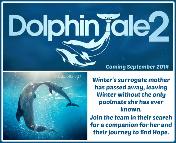 Dolphin Tale 2 ~ Official Trailer from Starts At Eight