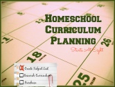 Homeschool Curriculum Planning in 3 Steps