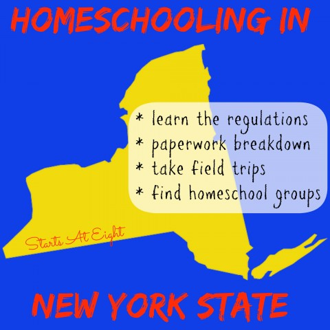 Homeschooling in New York State from Starts At Eight