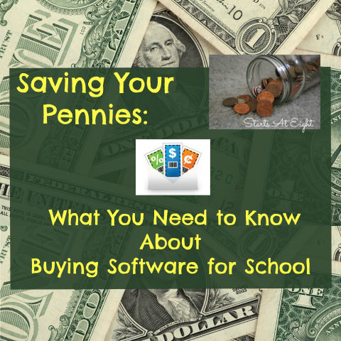 Saving Your Pennies: What You Need to Know About Buying Software for School from Starts At Eight