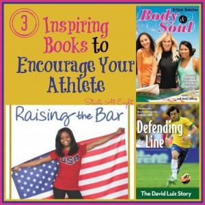 3 Inspiring Books to Encourage Your Athlete