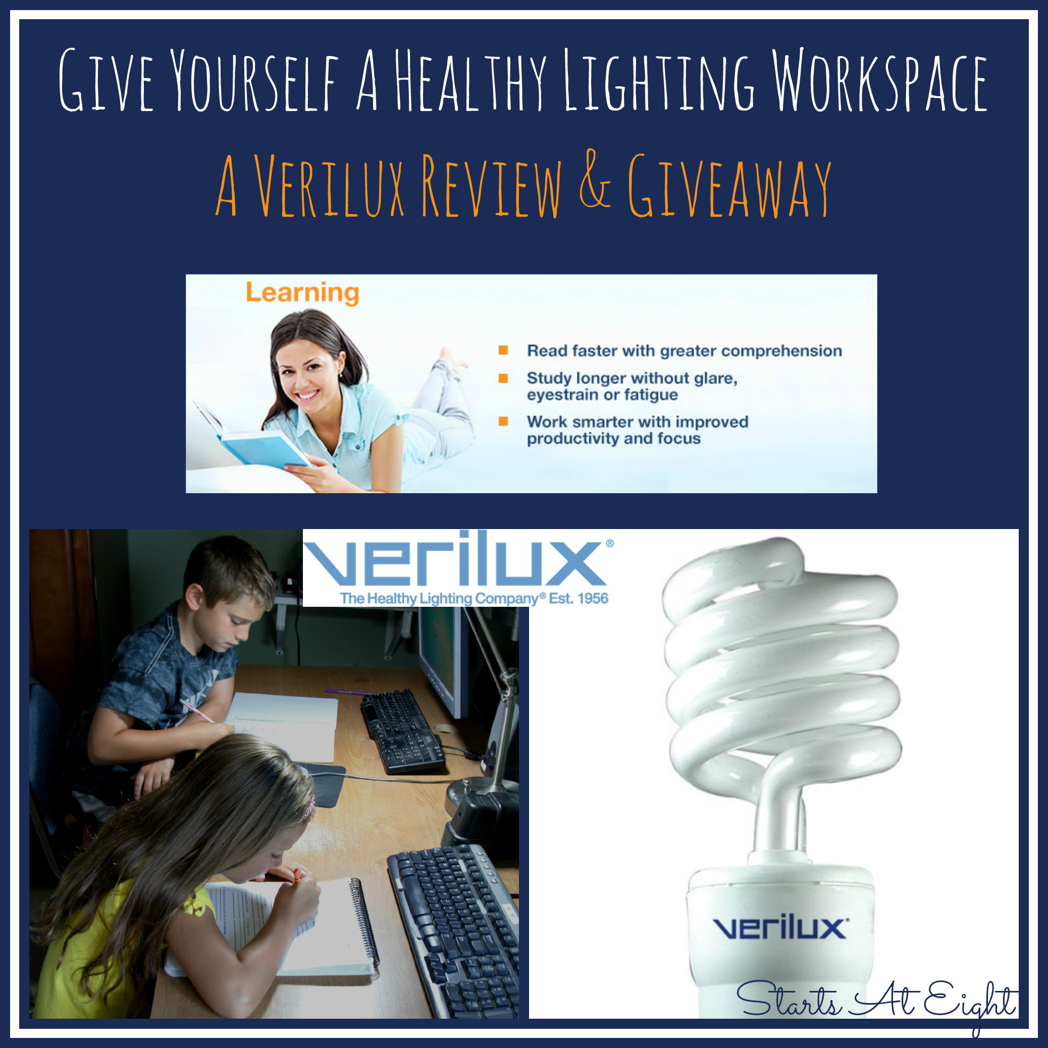 Give Yourself A Healthy Lighting Workspace ~ A Verilux Review u0026 Giveaway - StartsAtEight  sc 1 st  StartsAtEight & Give Yourself A Healthy Lighting Workspace ~ A Verilux Review ... azcodes.com