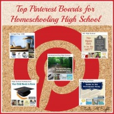Top Pinterest Boards for Homeschooling High School