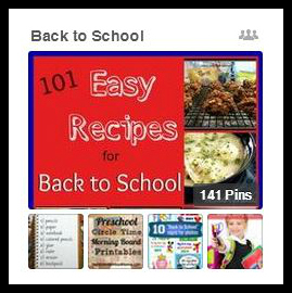 Back to School Pinterest Group Board