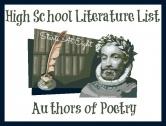 High School Literature List ~ Poetry
