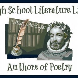 High School Literature List ~ Authors of Poetry from Starts At Eight