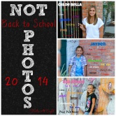 Not Back to School Photos 2014