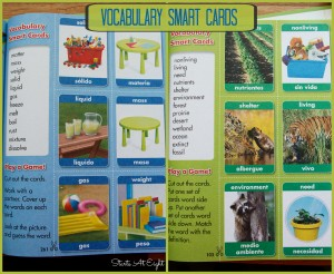 Pearson Homeschool Science Vocabulary Smart Cards from Starts At Eight