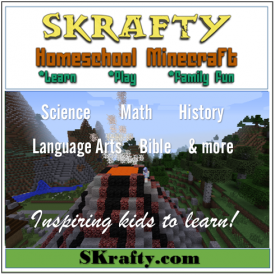 SKrafty Homeschool Minecraft Reivew & Giveaway from Starts At Eight