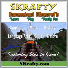 SKrafty Homeschool Minecraft Review & Giveaway