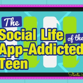 The Social Life of the App-Addicted Teen from Starts At Eight