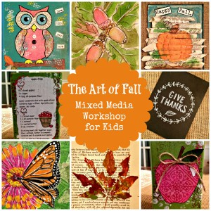 The Art of Fall: Mixed Media Workshop for Kids from Starts At Eight