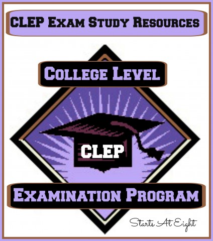 CLEP Exam Study Resources from Starts At Eight