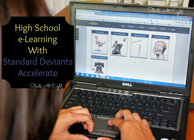 High School e-Learning With Standard Deviants Accelerate from Starts At Eight