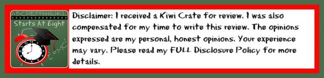 Kiwi Crate Disclaimer