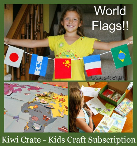 Kiwi Crate - Kids Craft Subscription from Starts At Eight