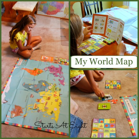 Kiwi Crate - My World Map from Starts At Eight