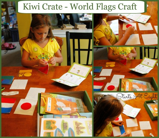 Kiwi Crate - World Flags Craft from Starts At Eight