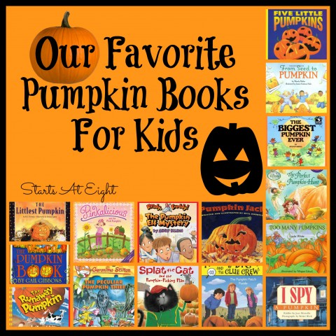 Our Favorite Pumpkin Books for Kids from Starts At Eight