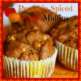 Pumpkin Spiced Apple Muffins