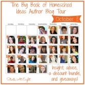 Big Book of Homeschool Ideas Blog Tour – Starts October 1st
