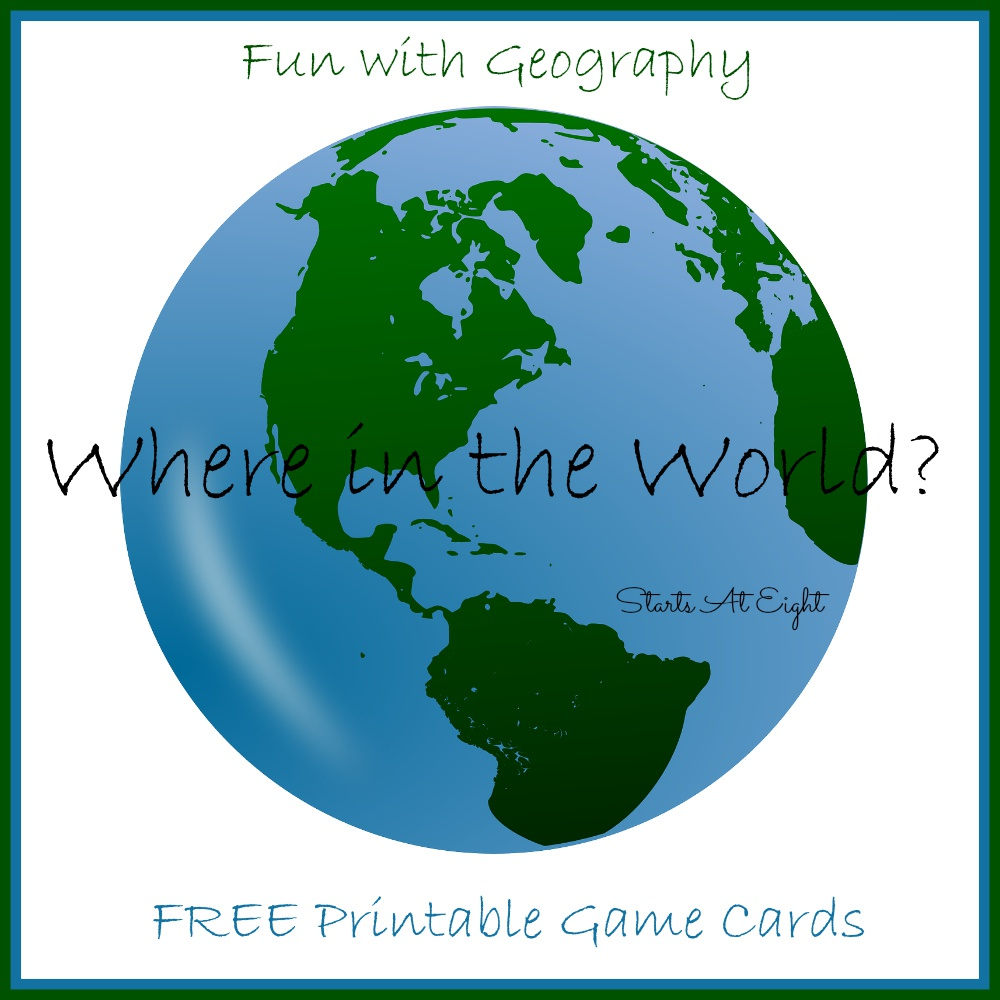 Where in the World – Fun with Geography