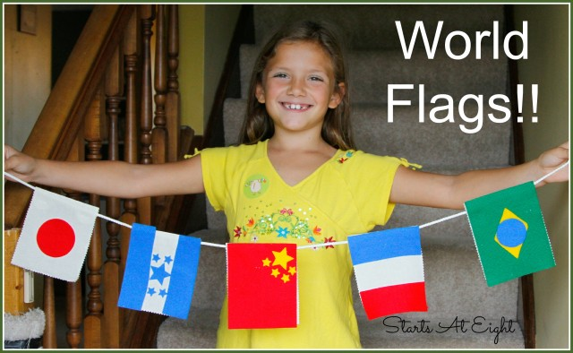 Kiwi Crate - World Flags from Starts At Eight