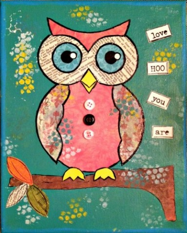 The Art of Fall: Owl
