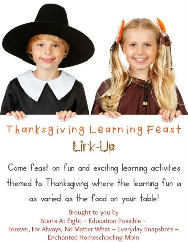 Thanksgiving Learning Feast Link-Up from Starts At Eight