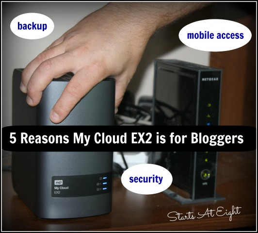 5 Reasons My Cloud EX2 is for Bloggers from Starts At Eight
