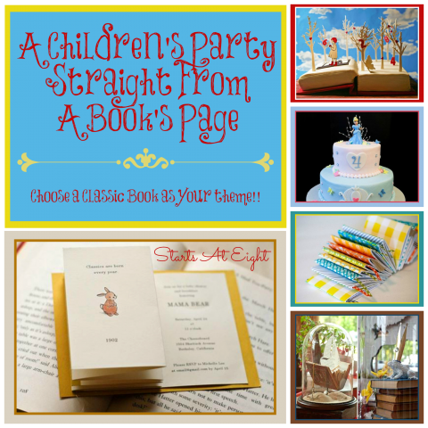 A Children's Party Straight From A Book's Page from Starts At Eight