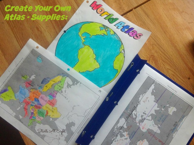 Create Your Own Atlas - A High School Geography Project