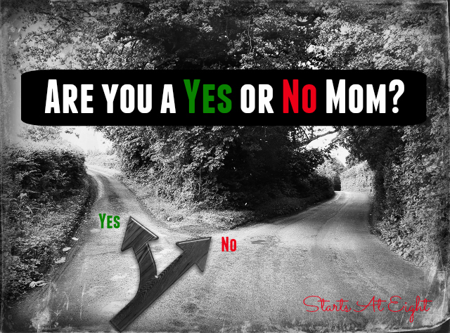 Are You a Yes or No Mom? from Starts At Eight