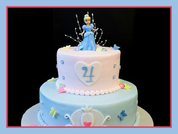 Cinderella Cake Children's Party from Starts At Eight