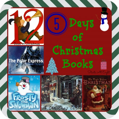 5 Days of Christmas Books from Starts At Eight