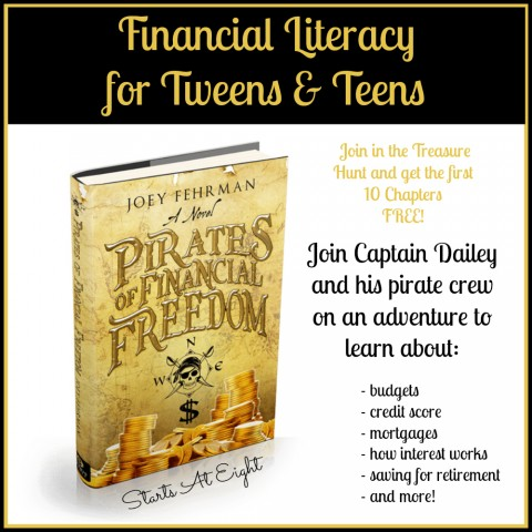 Financial Literacy for Tweens & Teens from Starts At Eight