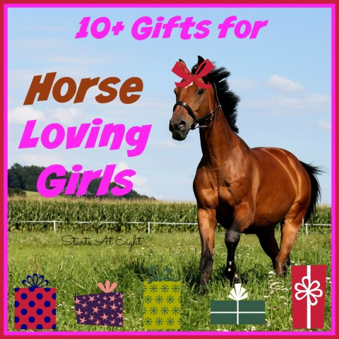 10+ Gifts for Horse Loving Girls from Starts At Eight